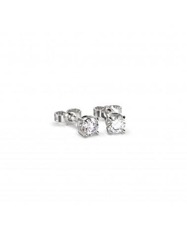 Orecchini in oro bianco con diamanti 0,36 H SI